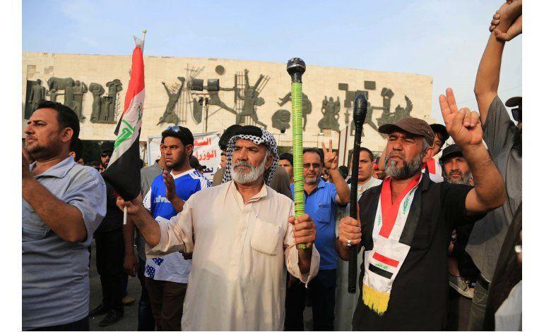 Irak: Seguidores de clérigo chií protestan en Bagdad