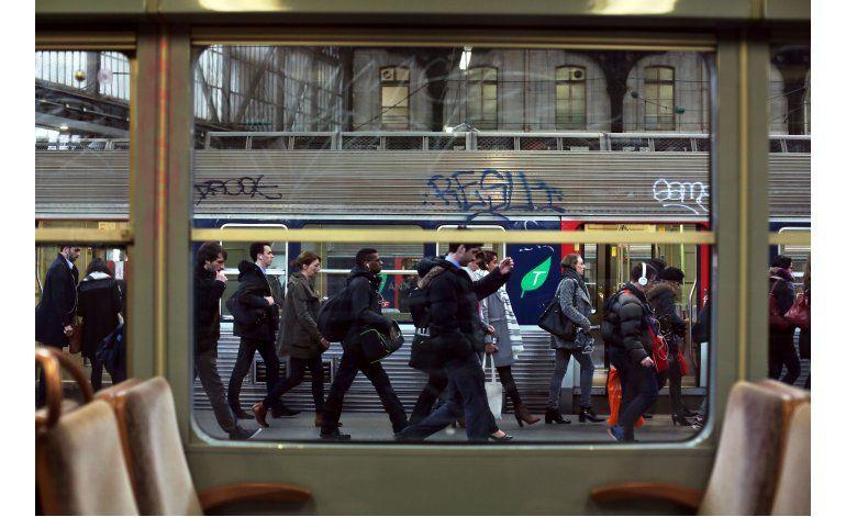 Huelga altera el transporte ferroviario en toda Francia