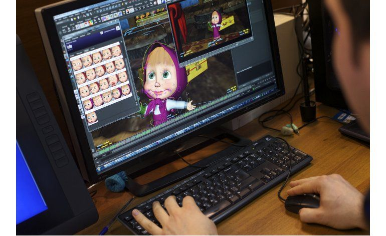 Serie animada rusa conquista el mundo