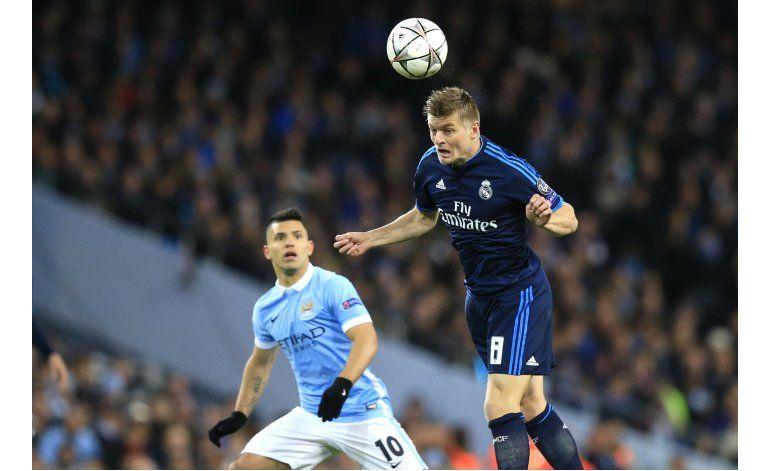 Sin Cristiano, Real Madrid empata 0-0 en visita al City
