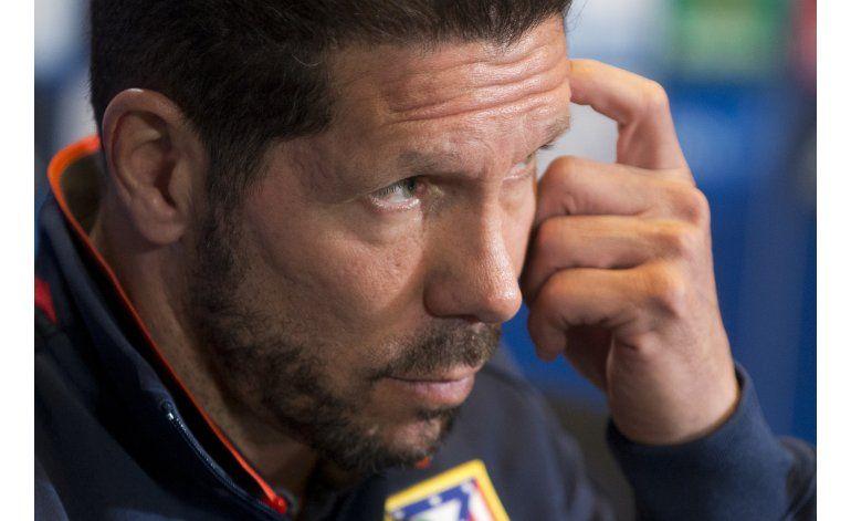 Simeone es sancionado por tres partidos