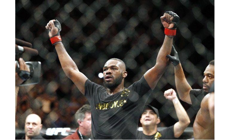 UFC reemplaza pelea de McGregor con Jones-Cormier