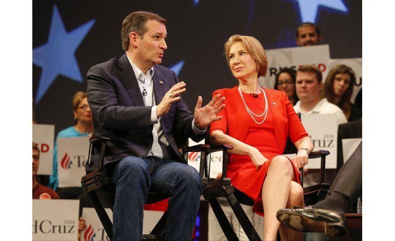 Cruz elige a Fiorina como candidata a la vicepresidencia