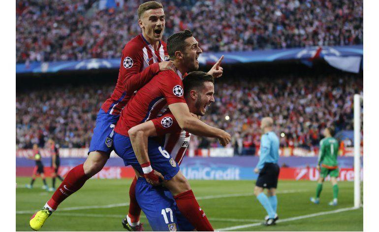 Atlético vence 1-0 a Bayern en semis de Champions