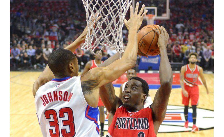 Trail Blazers ganan a Clippers, se adelantan 3-2 en la serie
