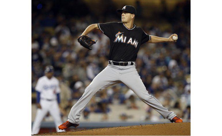 Nicolino brilla en triunfo de Marlins sobre Dodgers