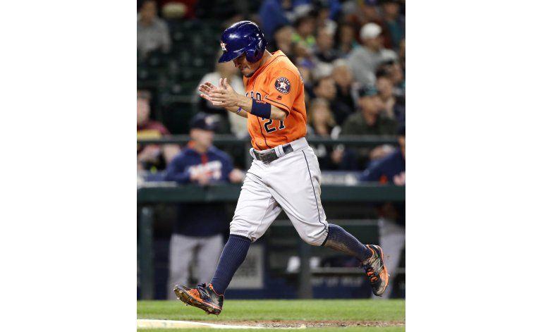 Altuve marca el ritmo a Astros en triunfo sobre Seattle