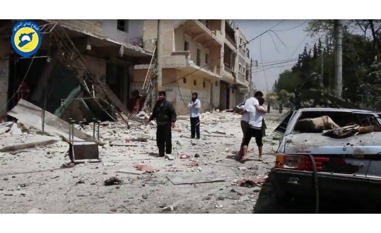 Más de 60 muertos por nueva ola de violencia en Siria