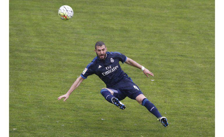 Benzema tiene lesión en bíceps femoral