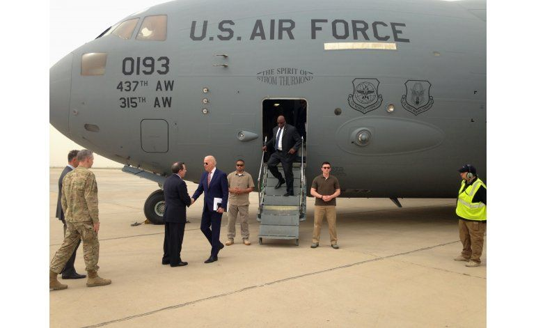 El vicepresidente de EEUU hace visita sorpresiva a Irak