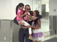 ex preso politico cubano se reencuentra con su familia en miami
