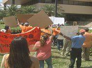 estallan fuertes protestas en sede de compania administradora de condominios sunshine management