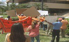 Estallan fuertes protestas en sede de compañía administradora de condominios Sunshine Management