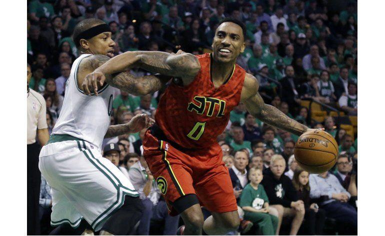 Hawks abruman a Celtics y los eliminan