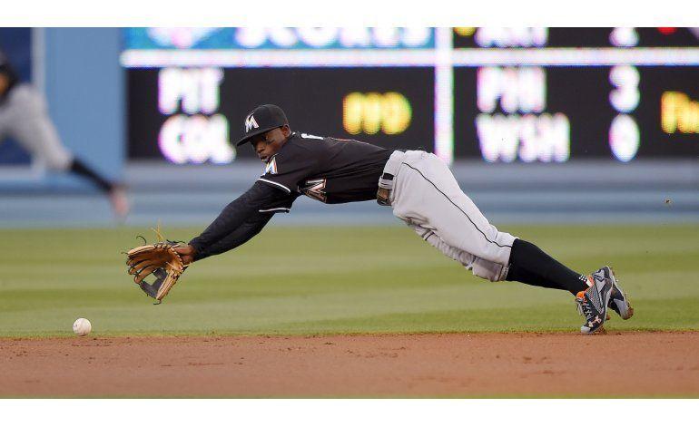 MLB suspende 80 juegos a Dee Gordon, de Marlins, por dopaje