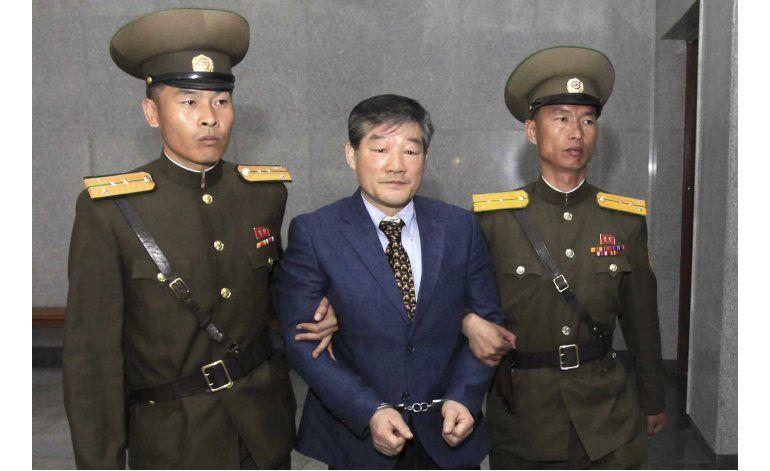 Corea del Norte encarcela a otro ciudadano estadounidense