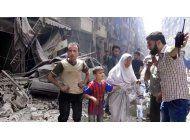 calma en la ciudad siria de alepo tras sangrientas jornadas