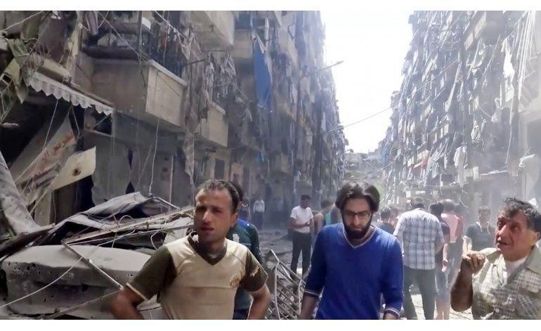 LO ULTIMO: Damasco declara tregua en 2 zonas pero no Alepo