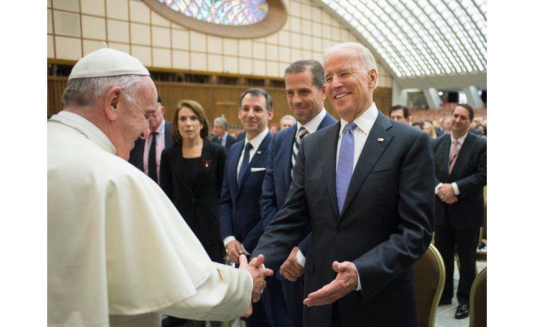En Vaticano, Biden pide compromiso global contra el cáncer
