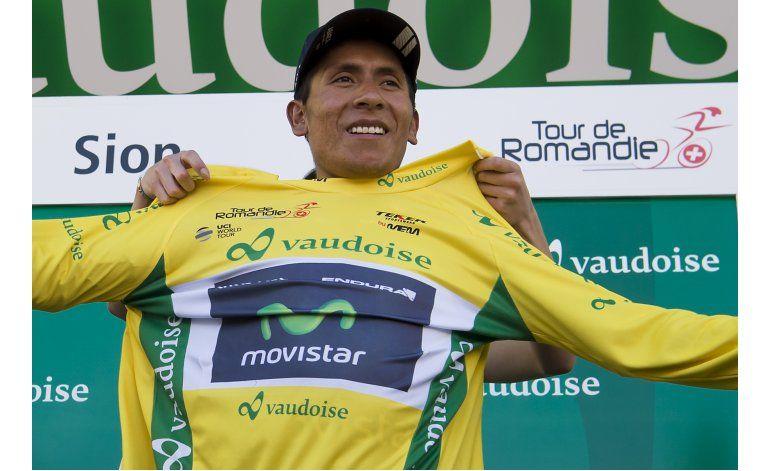 Nairo Quintana defiende liderato en Tour de Romandía