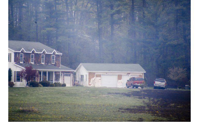 Explosión de gas natural quema casas en Pennsylvania