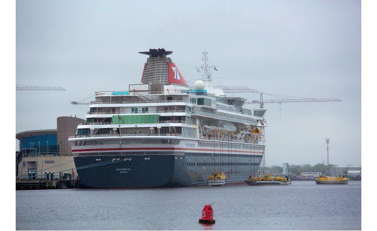 Enferman de norovirus 159 personas en crucero en Virginia