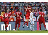 festejo de bayern en suspenso tras empate en bundesliga
