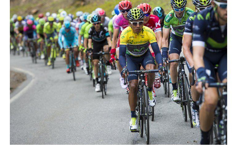 Quintana se aferra al liderato en Romandía