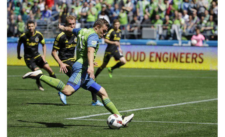 Morris sentencia agónica victoria de Seattle ante Columbus
