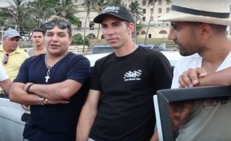 Robertico en las filmaciones de Rápido y Furioso en La Habana, Cuba!