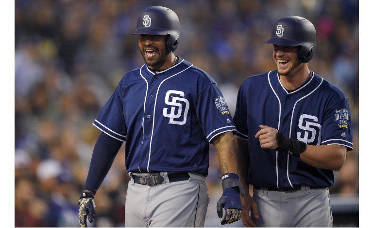 Doble de Upton ayuda a los Padres a ganar a los Dodgers