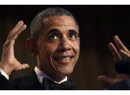 obama fuera: el presidente hace su ultimo monologo comico