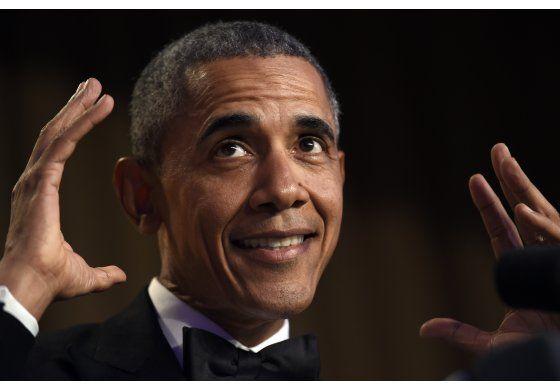 Obama fuera: El presidente hace su último monólogo cómico