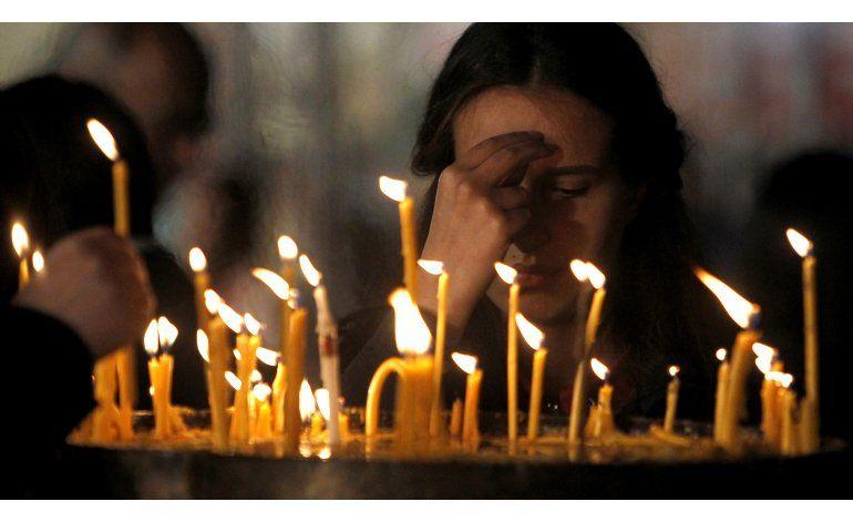 Cristianos ortodoxos del mundo celebran la Pascua