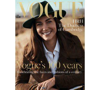 La duquesa de Cambridge posa para Vogue