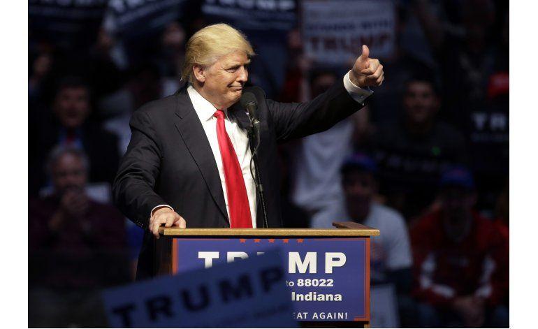 Trump recibe ayuda externa para poder ser el candidato