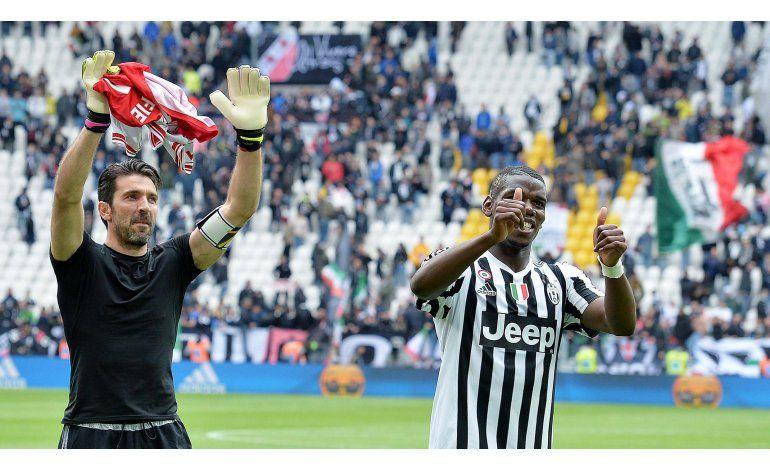 Juventus celebra el título con triunfo de 2-0 sobre el Carpi