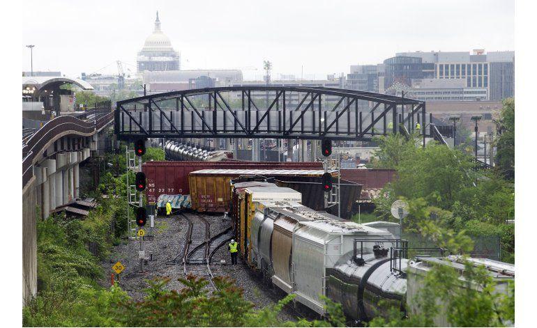 Tren se descarrila en Washington; no hay heridos