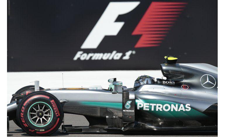 Rosberg también impone su ley en Rusia