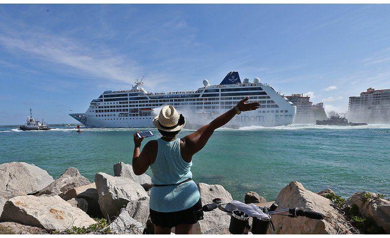 Zarpa primer crucero de Miami a La Habana en décadas