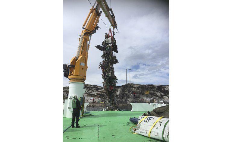 Helicóptero caído en Noruega no emitió pedido de auxilio
