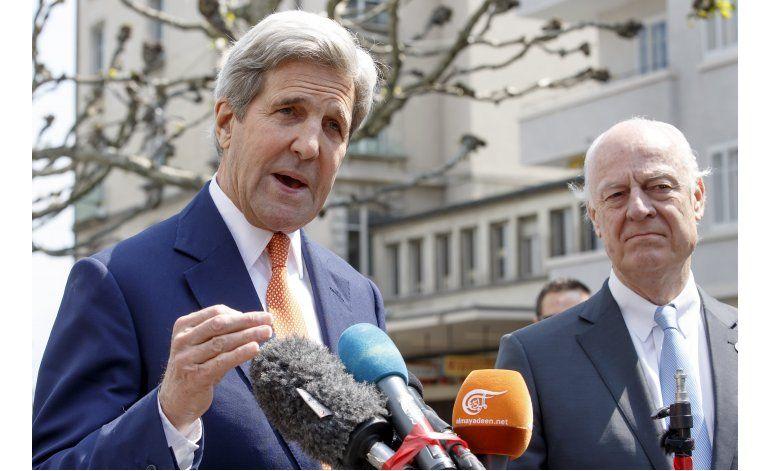 Kerry busca un camino a la calma en Siria