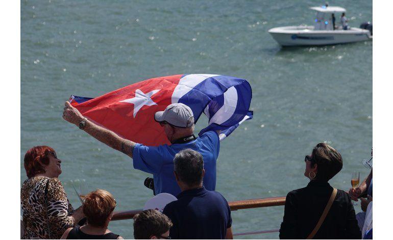 Primer crucero de EEUU en décadas llega a Cuba