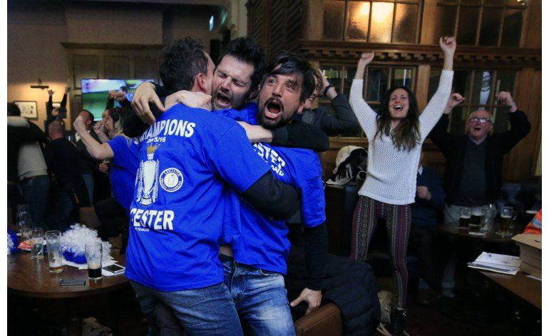 Leicester, campeón de Inglaterra por primera vez