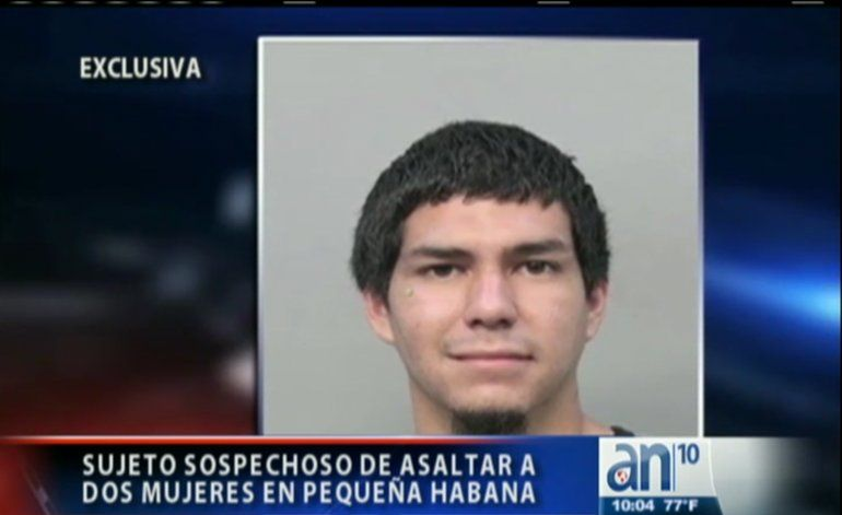 Un joven siembra el pánico tras asaltar con un cuchillo a dos mujeres en La Pequeña Habana
