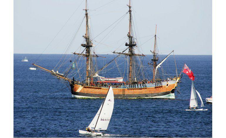 Posibles restos del barco del capitán Cook en Rhode Island