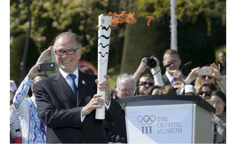 Rí0 2016: Comienza el relevo de antorcha olímpica en Brasil