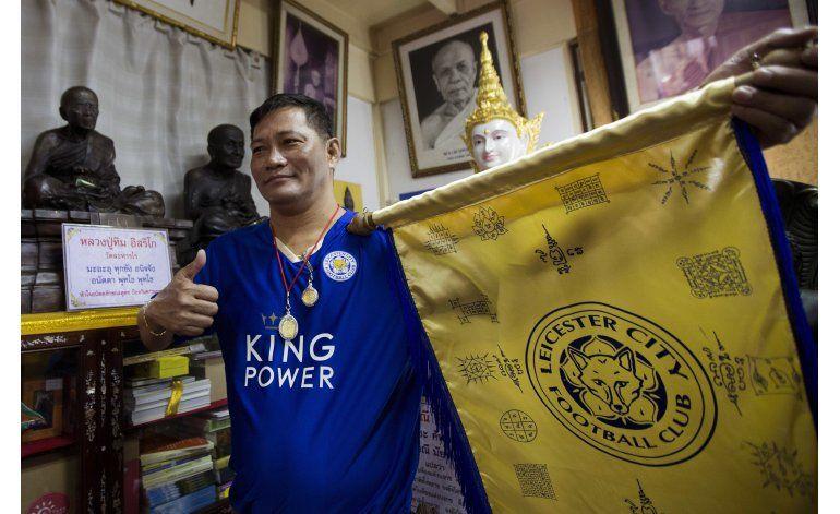 Templo budista en Bangkok venerado por hinchas de Leicester