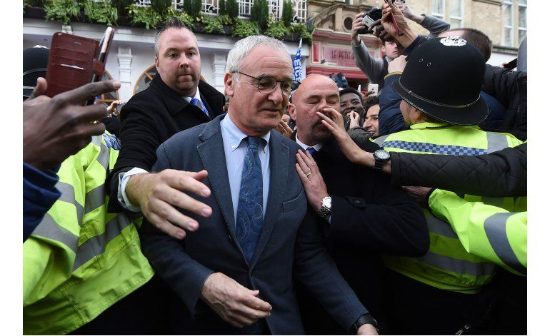Rey Claudio: Ranieri elogiado como héroe en Italia