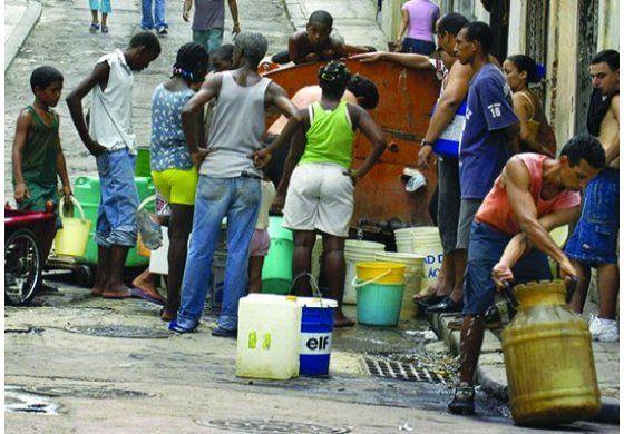 La escasez de agua en Cuba esta en un punto critico